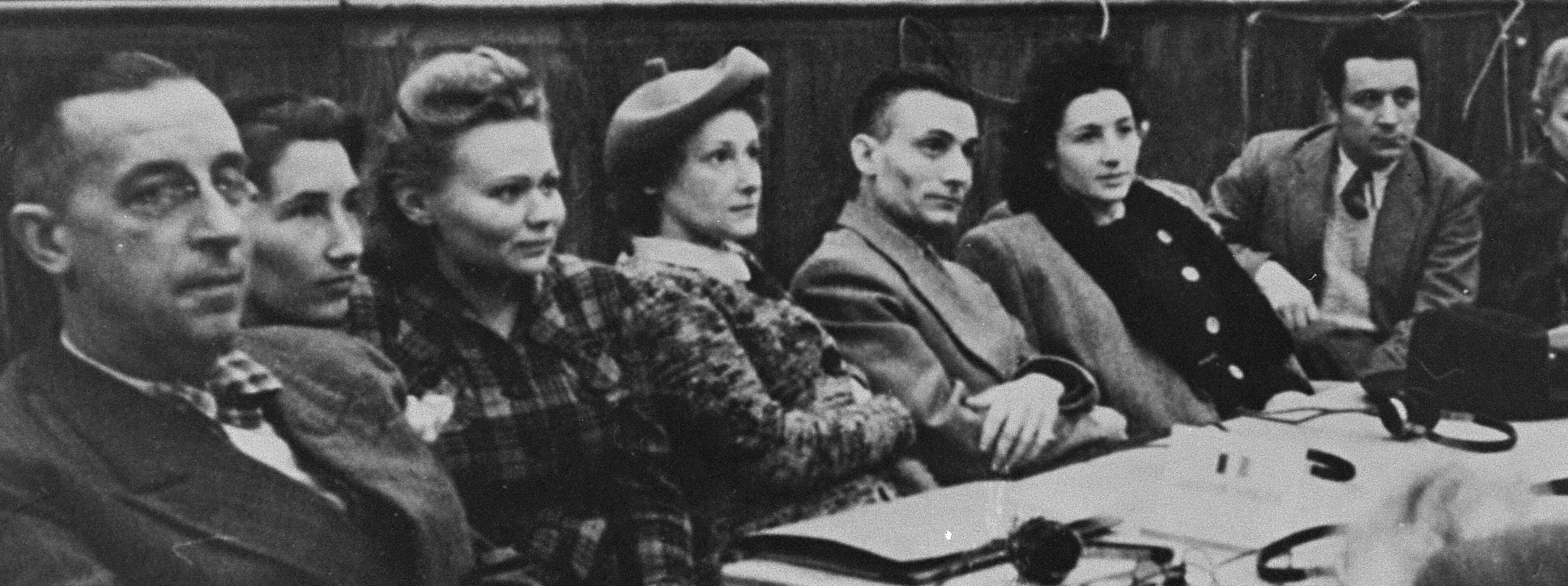 Witnesses for the Prosecution at the Krakow Auschwitz Trial