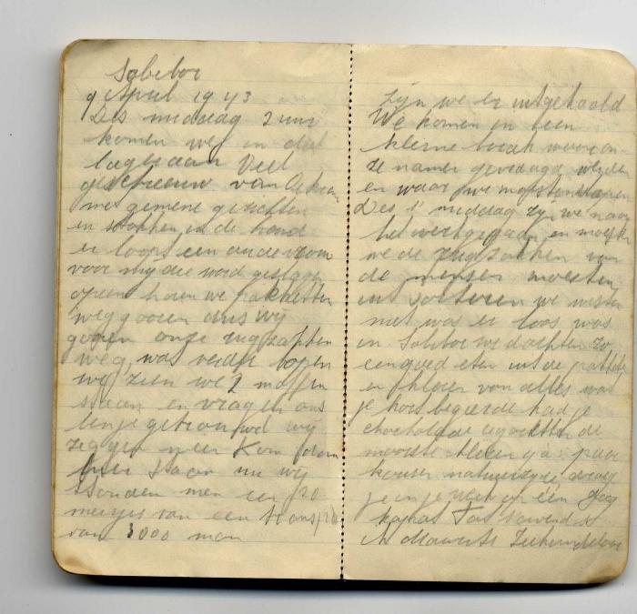 Wijnberg, Saartje Diary 1943