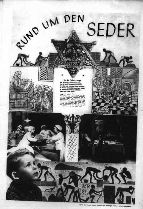 About the Seder, Vienna Jüdisches Nachrichtenblatt, newspaper article 1939