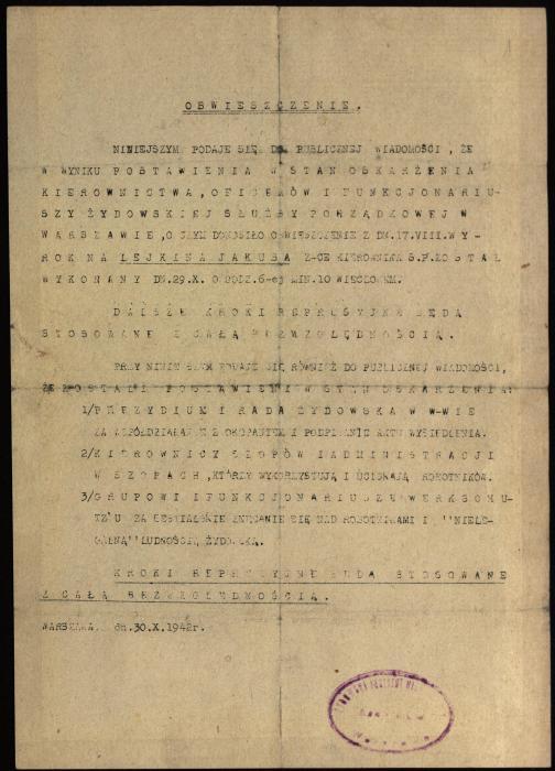 Jakub Lejkin execution document