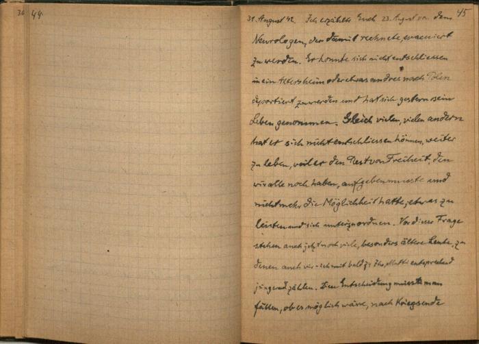 Guttentag, Adolf Diary 1942