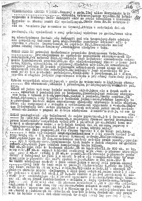 Lodz Ghetto Chronicle