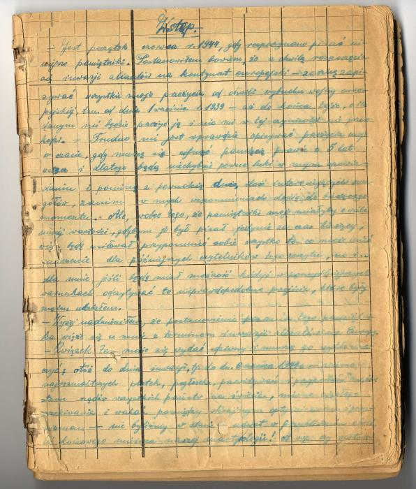 Winnykamien, Fryderyk Diary 1944