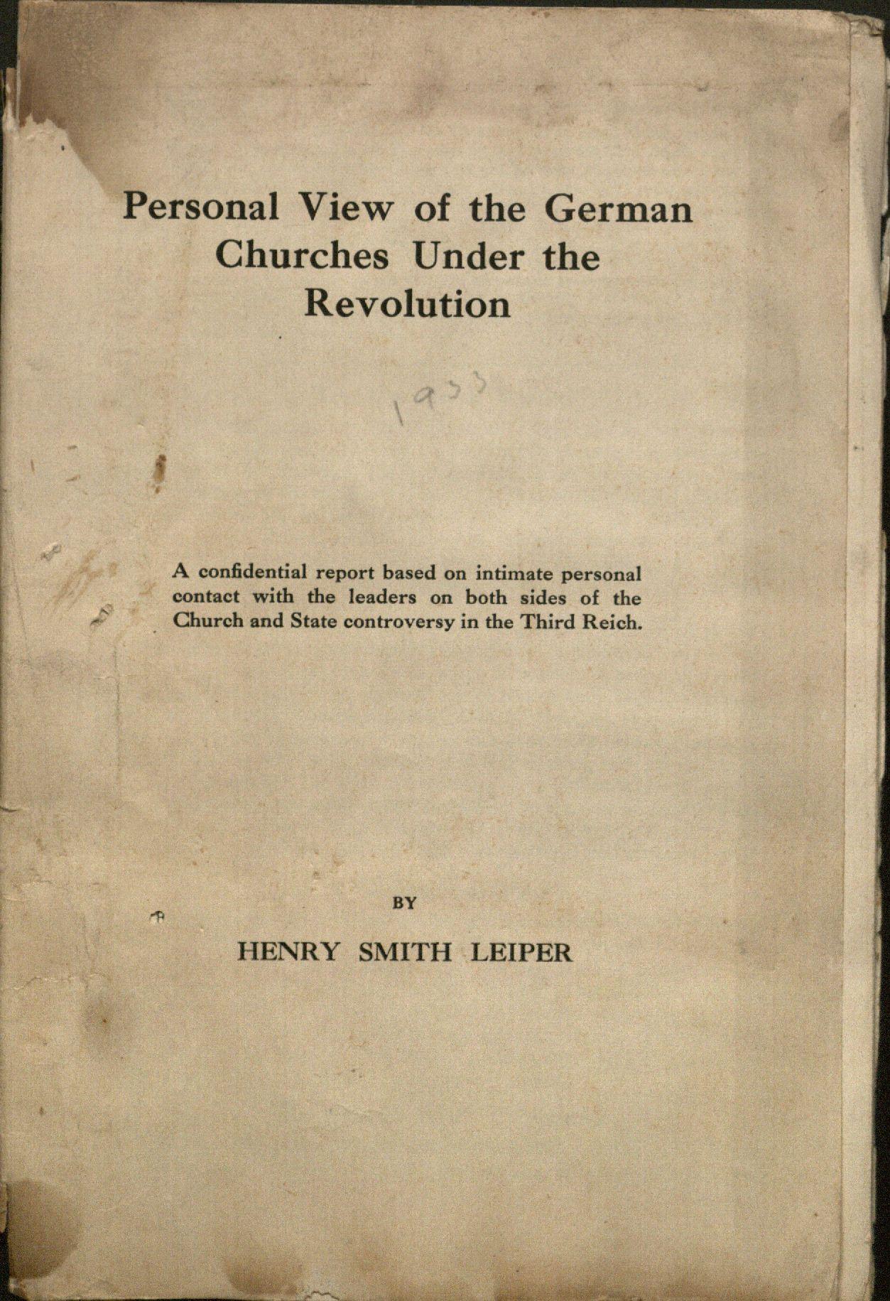 Leiper Booklet