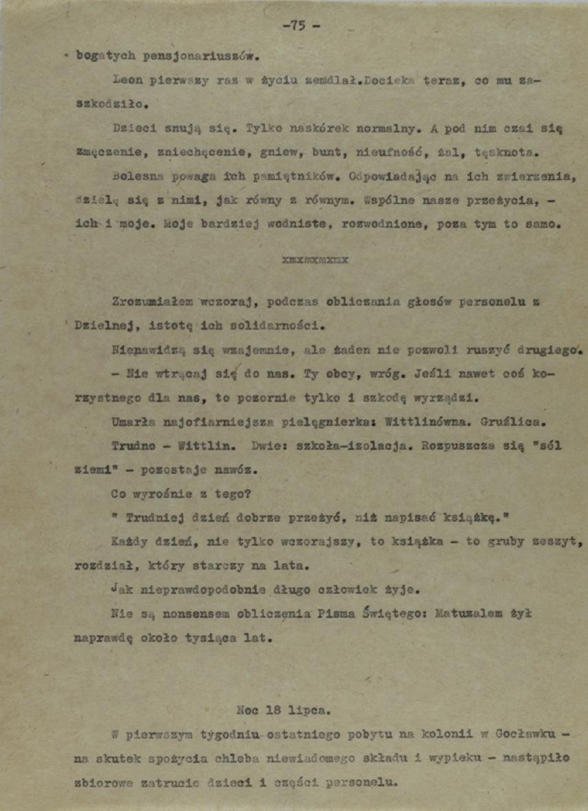 Korczak Diary