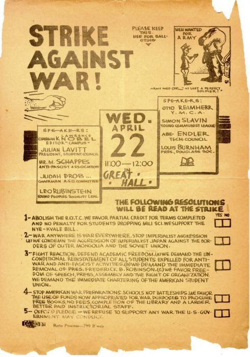 Strike Against War