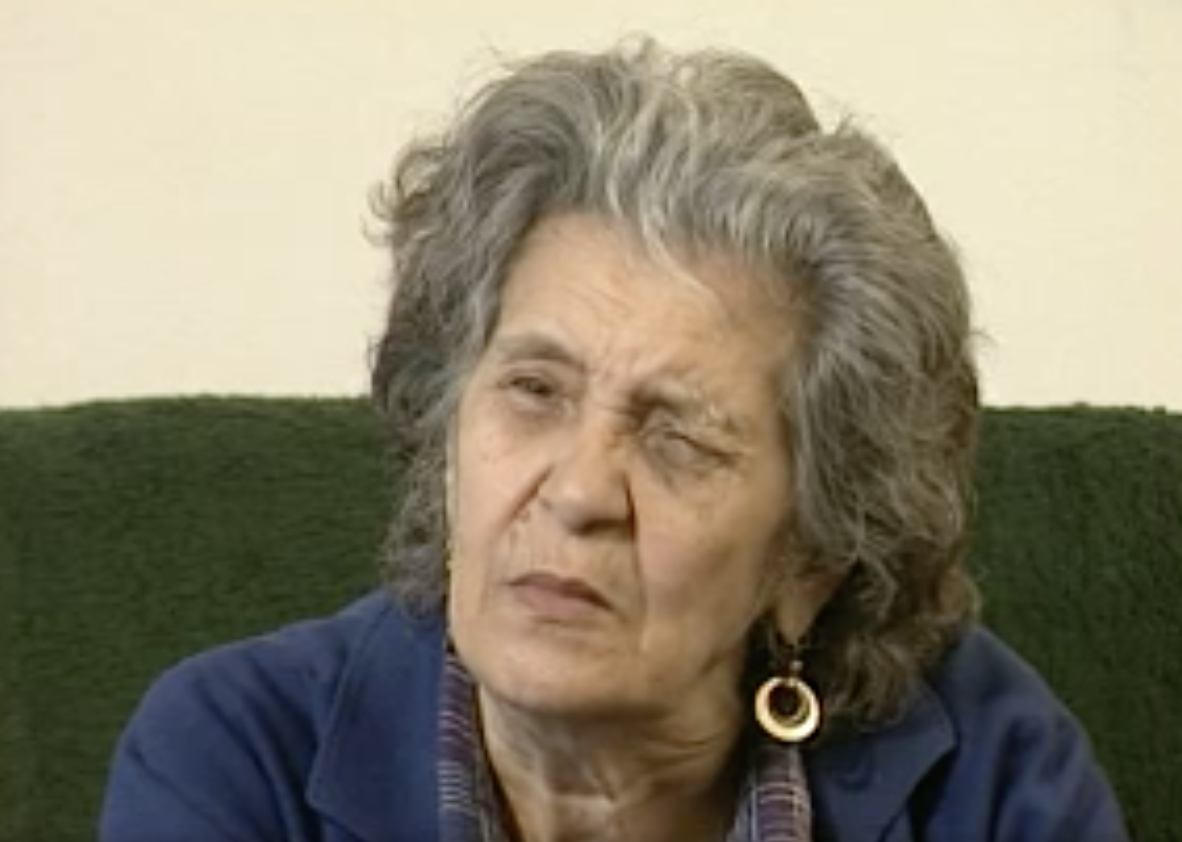 In the featured oral history, Marie Ondrášová (called Kveta) recalls her family's imprisonment in the Hodonin camp for Roma and Sinti people.