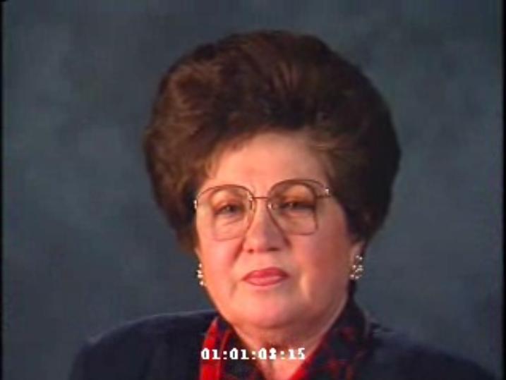 Schiff, Charlene oral history 1993
