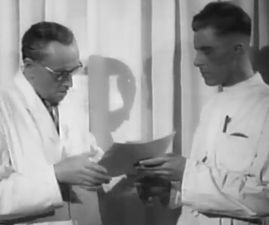 "The featured public health propaganda film was made in 1941 to convince the German public to trust modern medical treatments for cancer over the ""hocus pocus"" offered by unqualified frauds promising miracle cures."