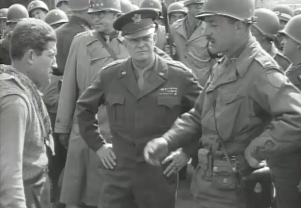 Eisenhower at Ohrdruf