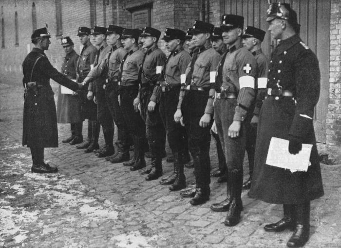 Berlin Police Deputizing SS Members