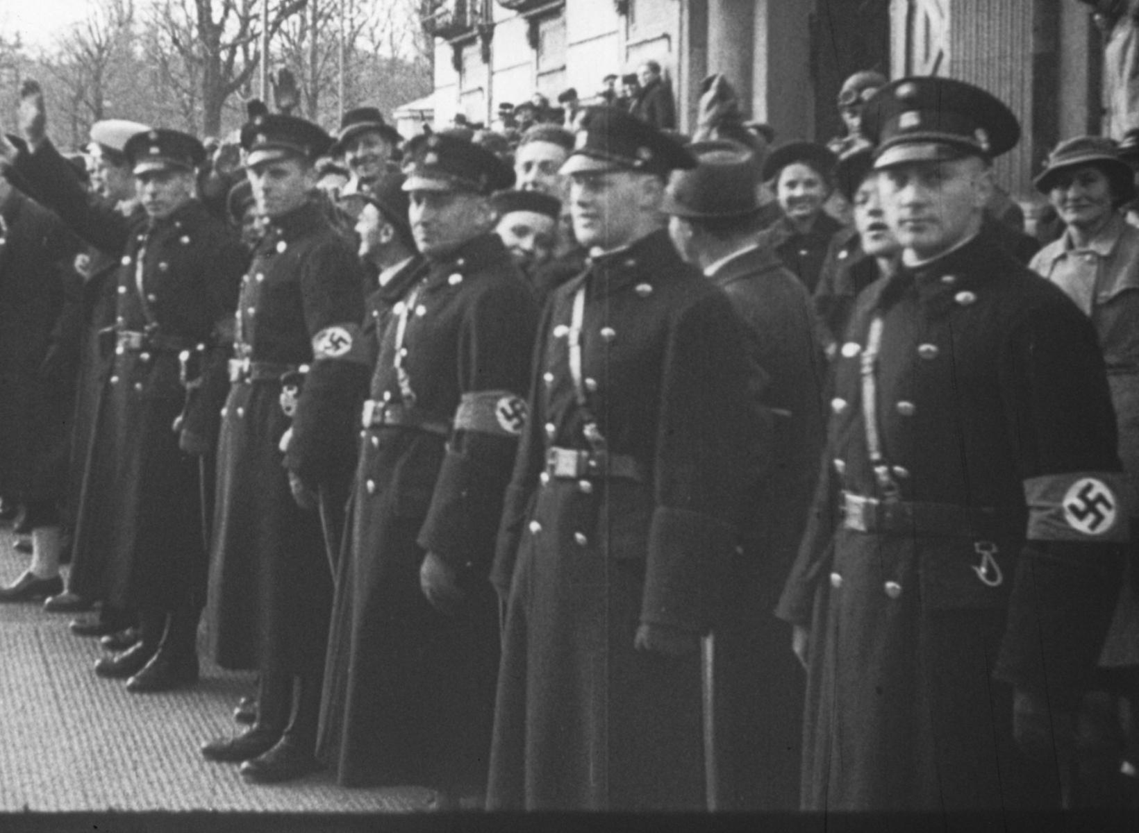 Austrian Police Anschluss