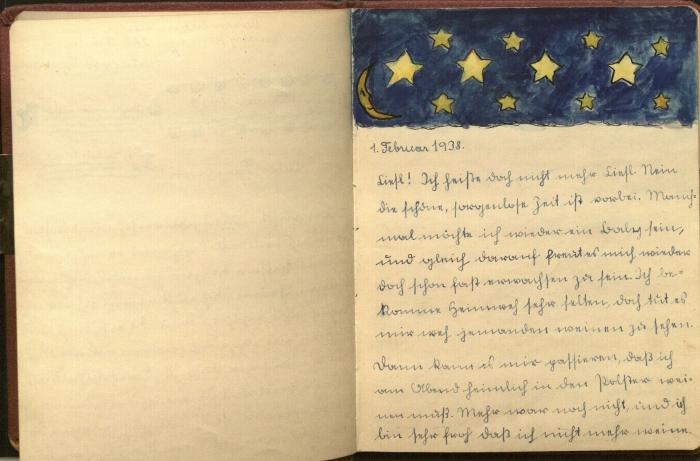 Ornstein, Elisabeth Diary 1939