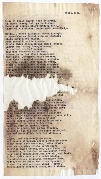Szlengel, Władysław poem 1941