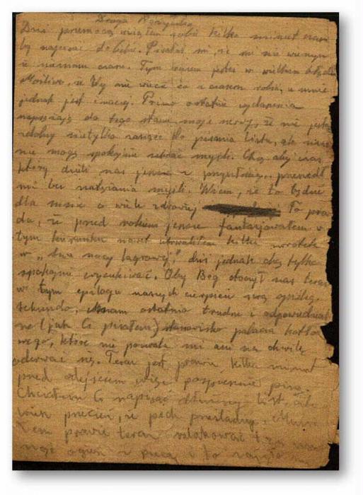 Birnbaum, Jakub letter 1945