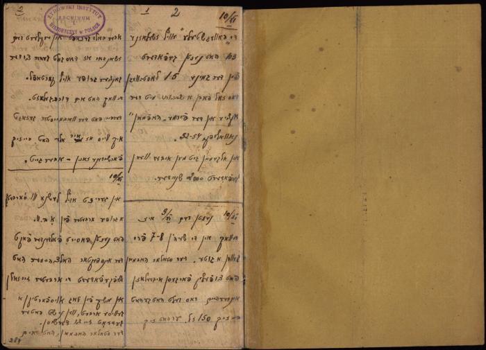 Górny, Jechiel Diary 1942